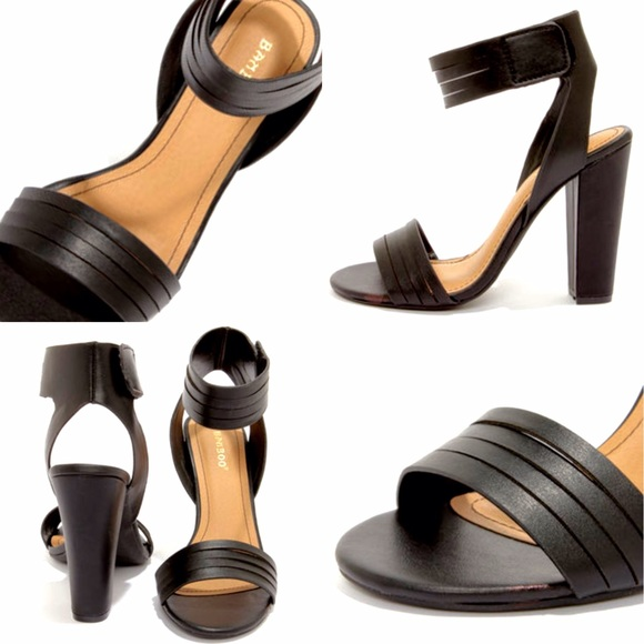 bamboo shoes - black sandals GJNXVIQ