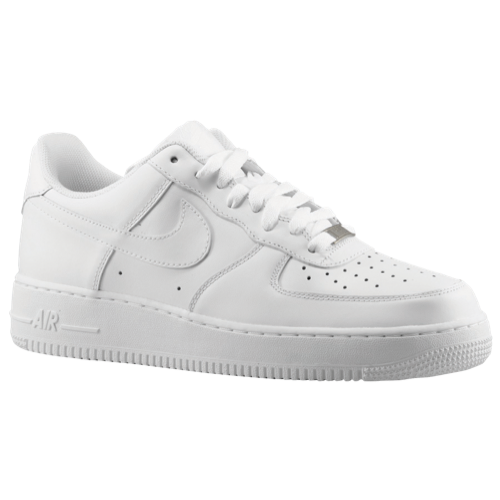 basketball sneakers nike air force 1 low - menu0027s - all white / white ZEYCYZV