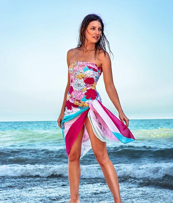 beach wear manuel canovas paris - woman or ladies swimwear, swimsuit, bathing suit,  beachwear, cover ups UUXVHCF