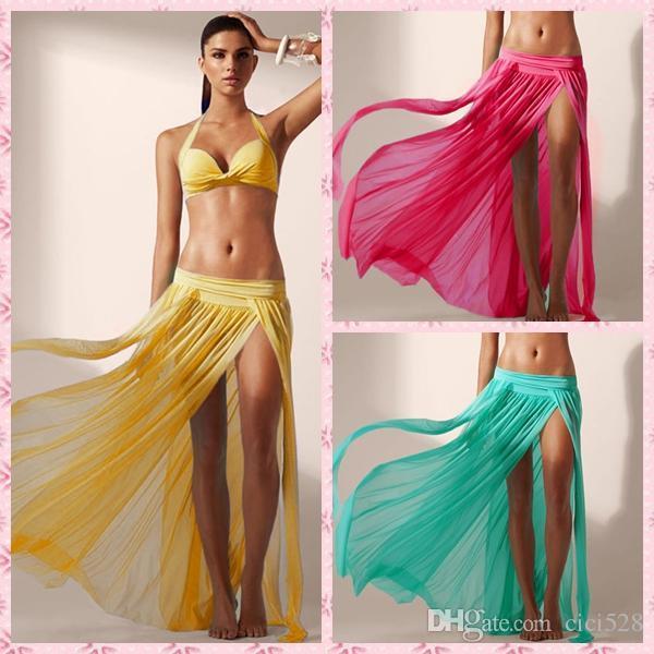 beachwear for women hot 2016 fashion swimwear bikini beach cover up skirt women beach skirt  swim cover SPCHELL