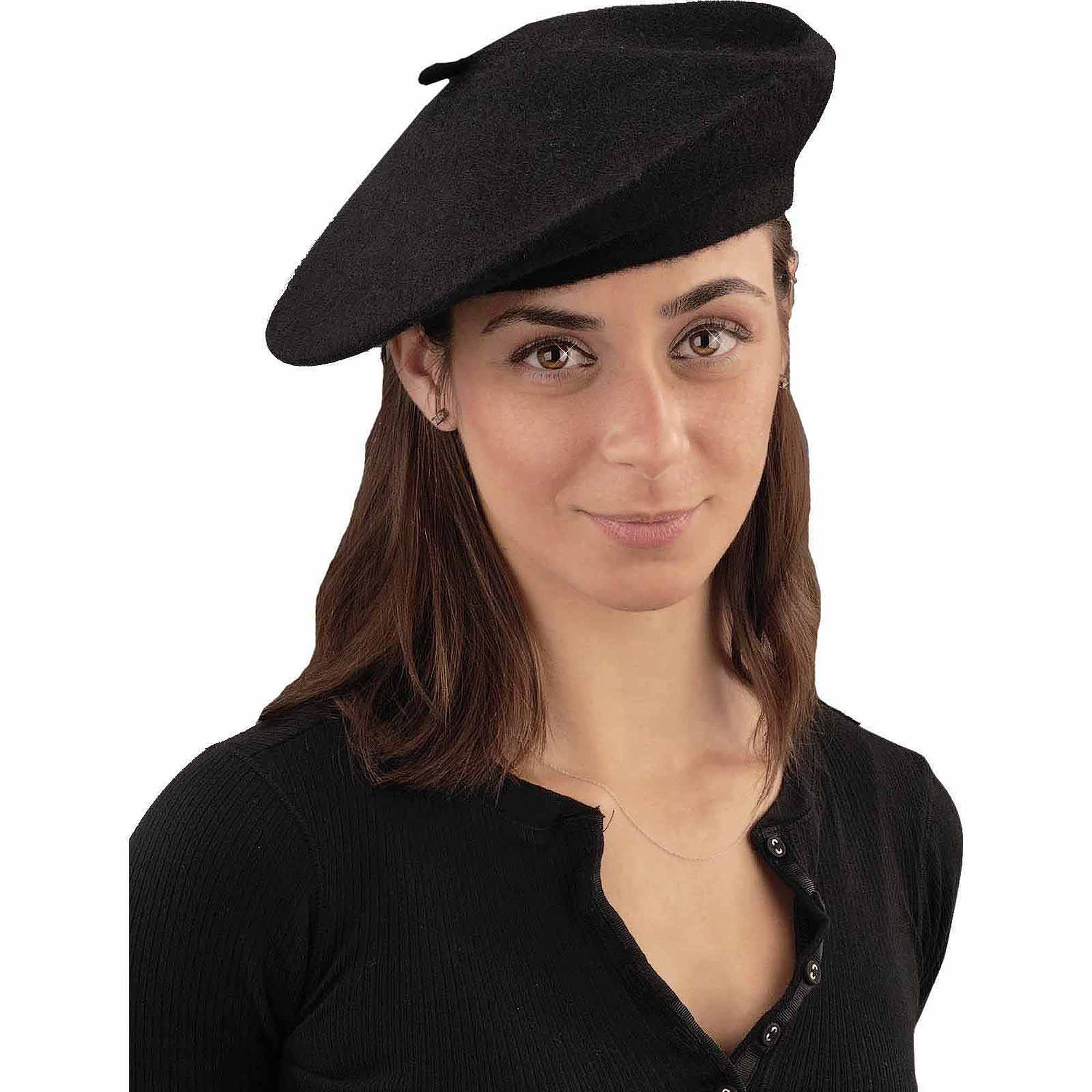 Accessorize with beret hats!
