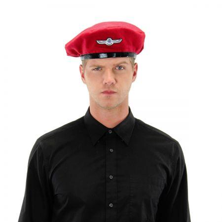 beret hat red beret at village hat shop LCGIHFX