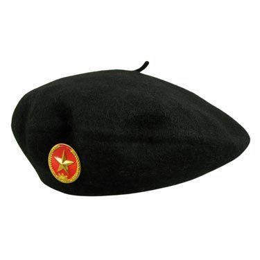 beret hat village hat shop communist star wool beret JGEIYEA