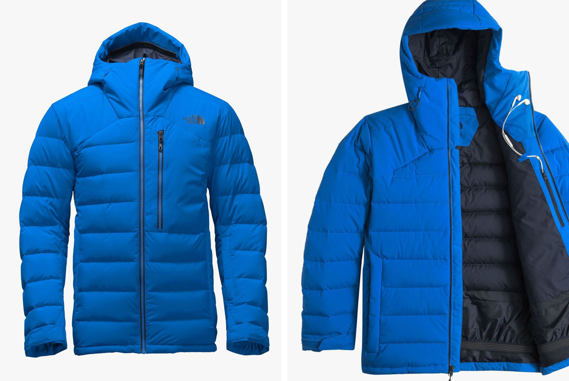 best for skiing light: down jackets are commonly used in tandem with  waterproof shells MUNGJPD