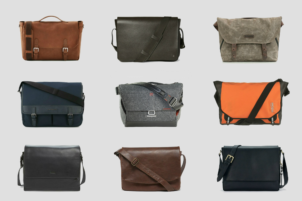 best messenger bags for men AWHZOOY