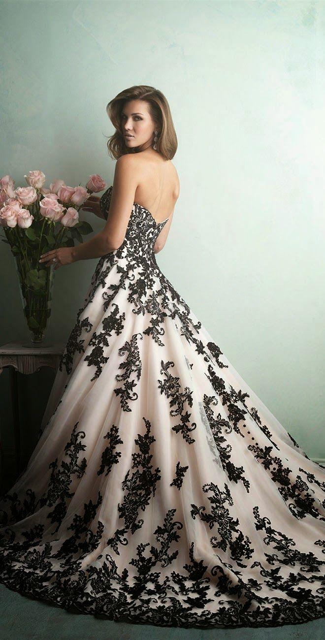 black and white wedding dress best wedding dresses of 2014 WZFMPLP