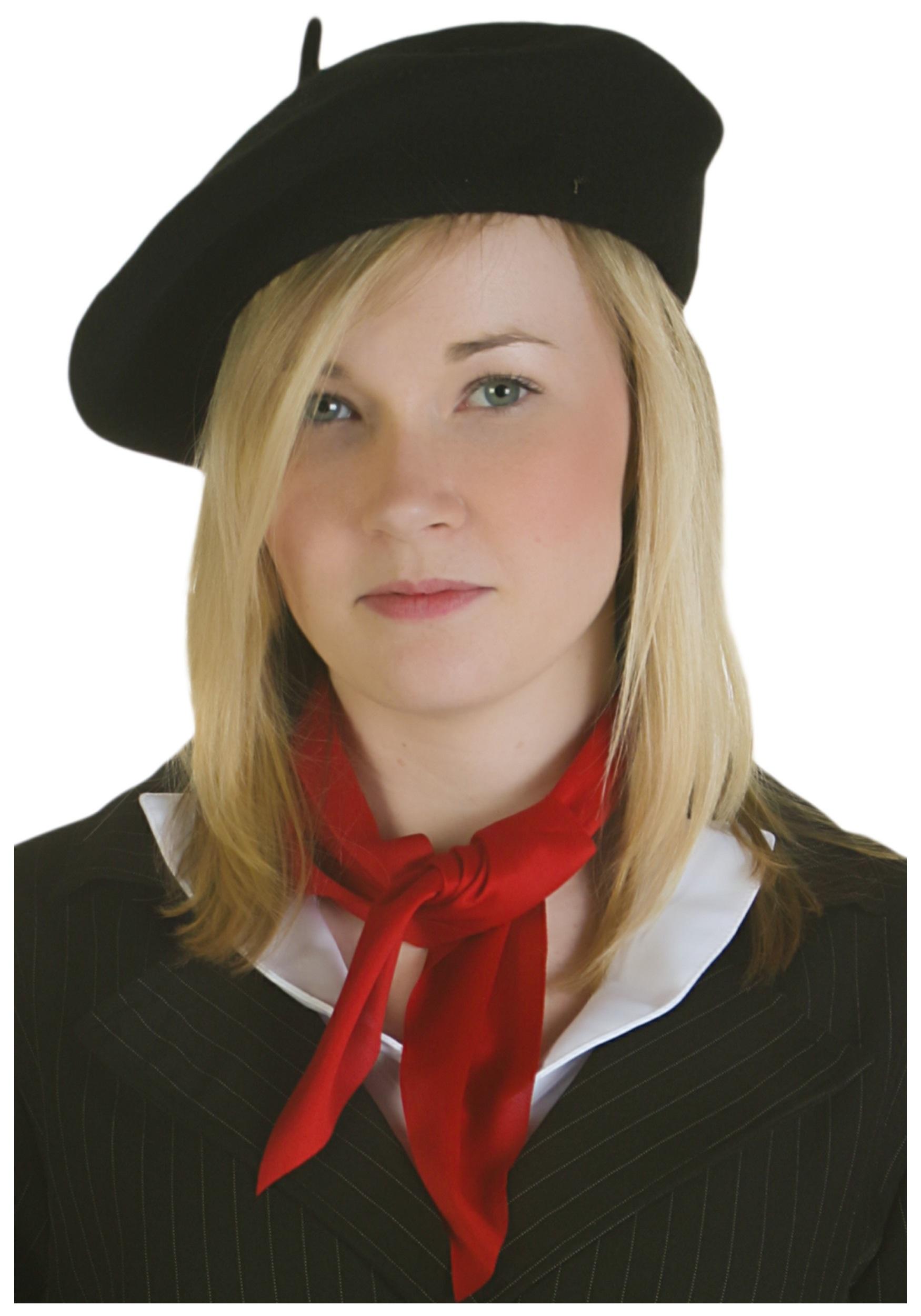 black beret hat VCOPRVL