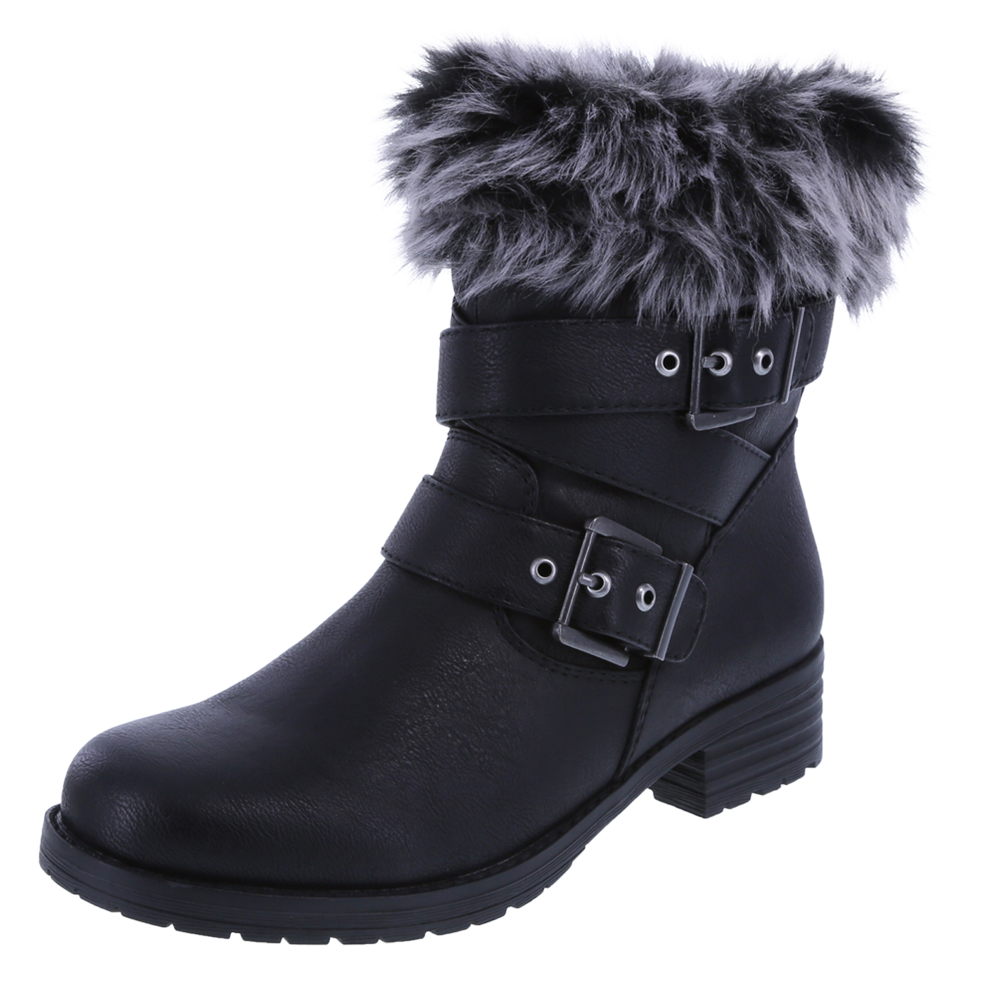 black boots womenu0027s talley fold-over cozy boot, black, hi-res VPVUUWY