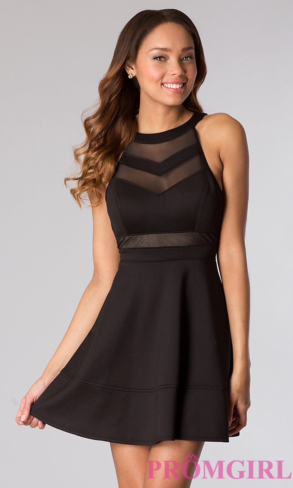 black dress hover to zoom BEWSPOO