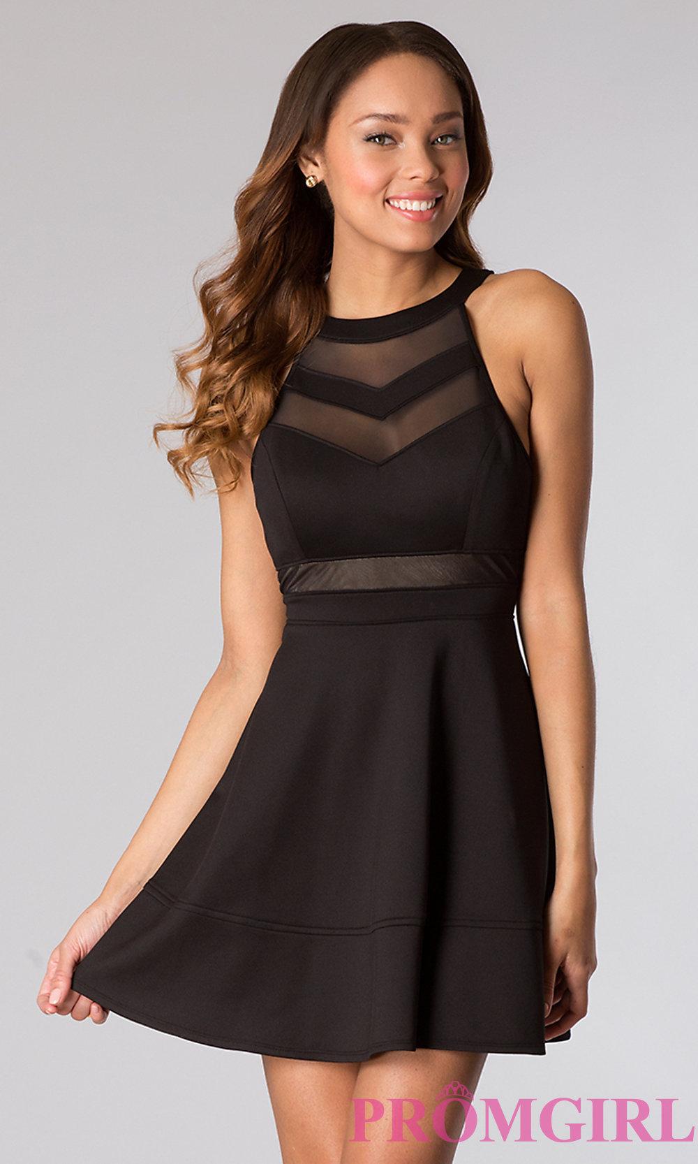 black dress hover to zoom BQGEJMK