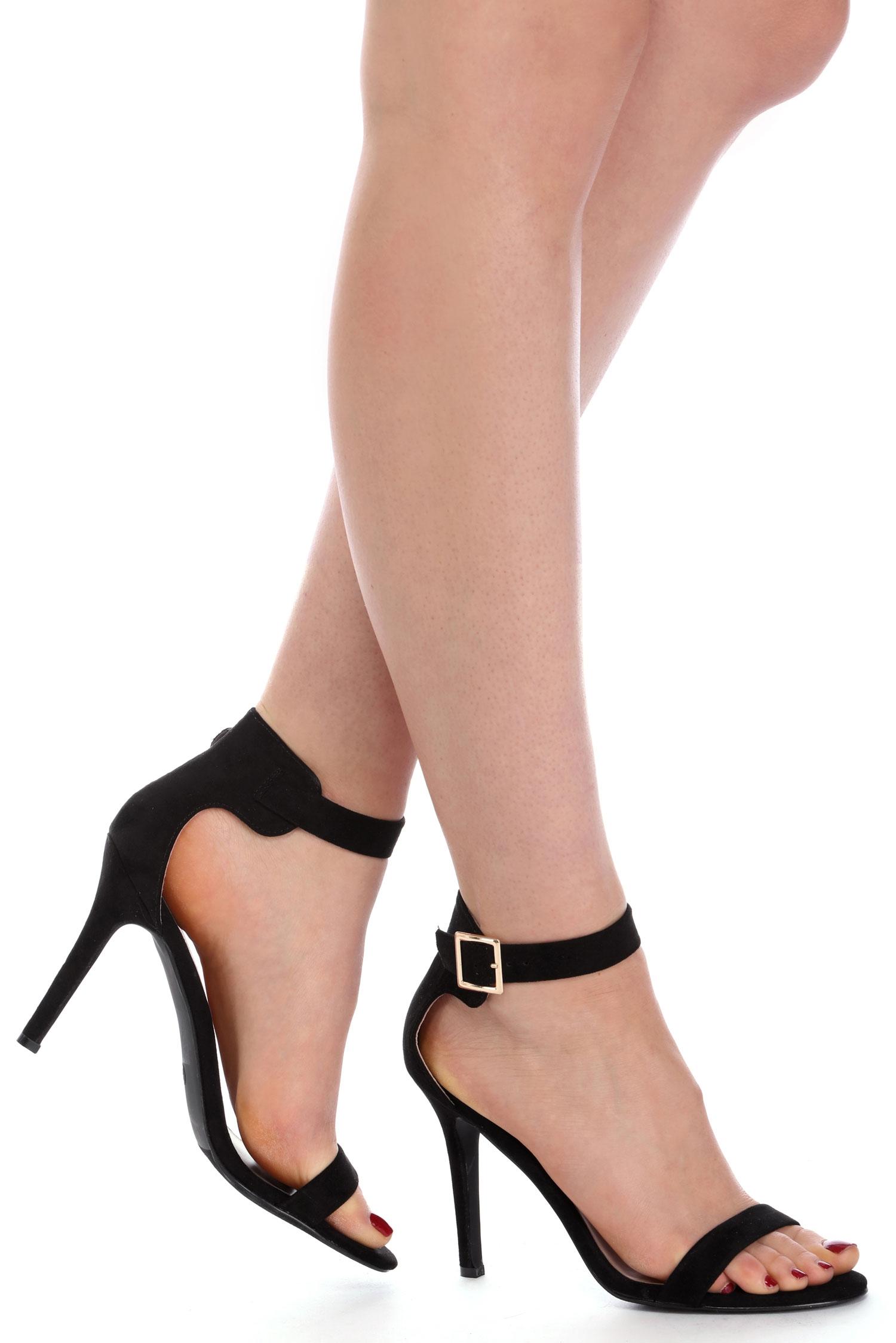 black heels black suede basic heels DTVMLQM