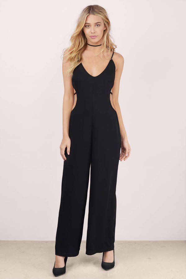 Black Jumpsuits final sale FXRALOJ