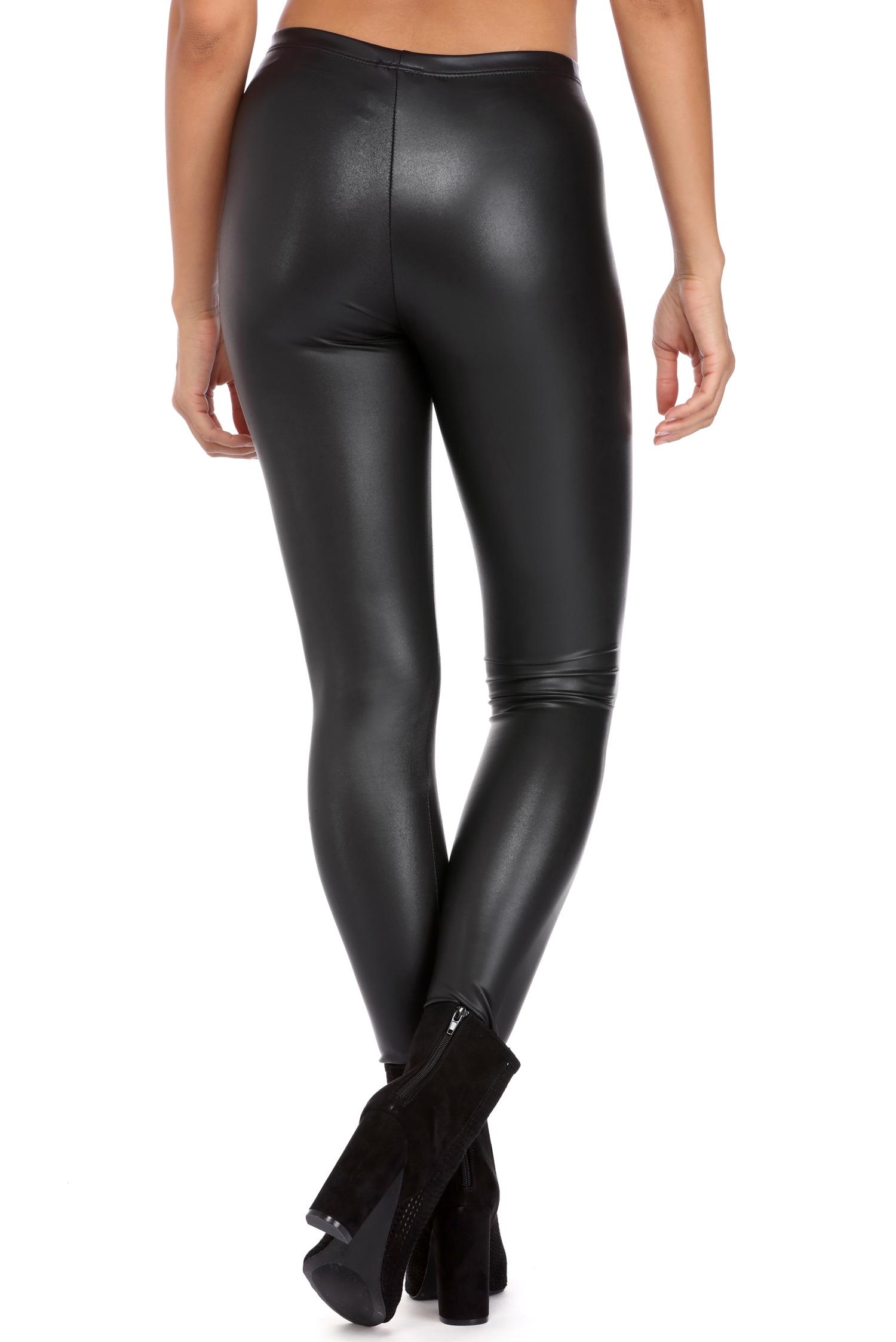 black matte liquid leggings HRLUQSH