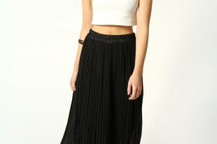 black maxi skirt long black pleated maxi skirt VSUAQMT