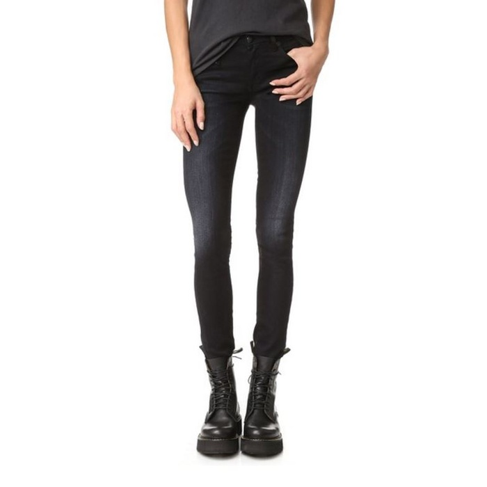 Getting along with the black skinny jeans
