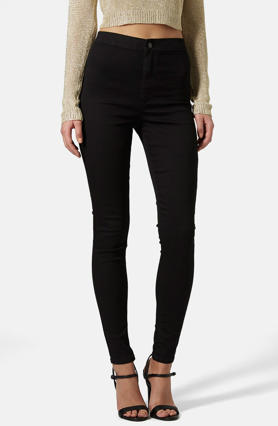 black skinny jeans topshop joni high waist ankle skinny jeans | nordstrom INDWAAZ