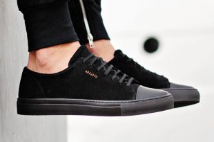black sneakers axel arigato all black sneaker with a classic design, handcrafted with  premium italian materials TKZYWSE