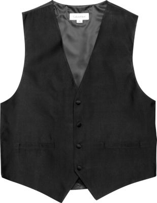 black vest calvin klein black formal vest - menu0027s formal vests u0026 cummerbunds | menu0027s  wearhouse MMZTUMN