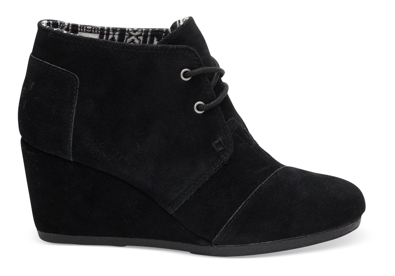 black wedge boots alternative image 1 ... VLCFOFP