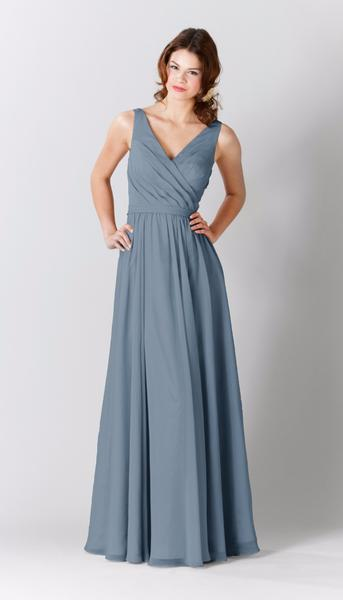 blue bridesmaid dresses kennedy blue bridesmaid dress anna RUWSRSJ