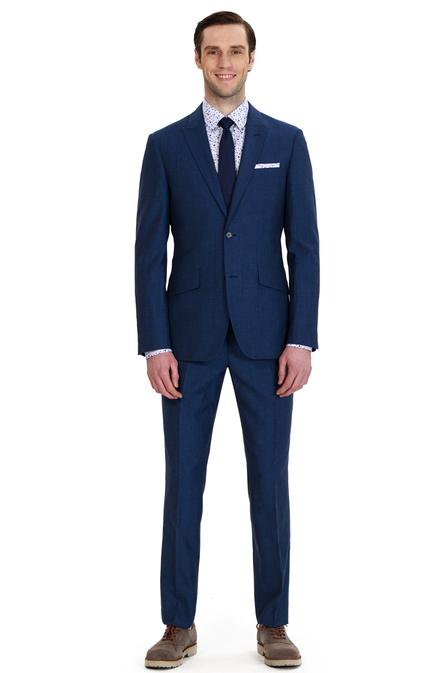 blue business suit DTGBDPO