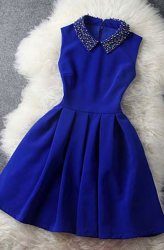 blue dress with collar | womenu0027s fashion, collared dress and shops YFPZTMZ