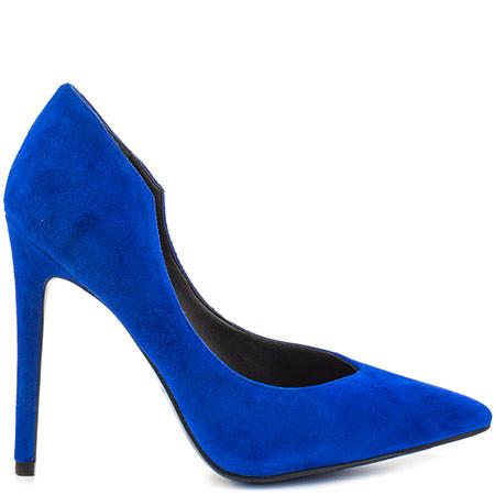 blue heels kendall and kylie abi - medium blue suede VKBVSIJ