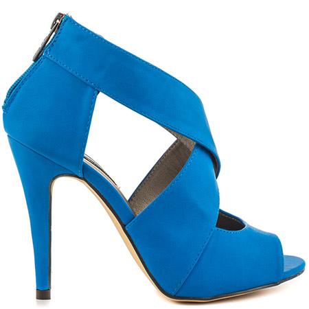 blue heels michael antonio lovey s16 - blue pu CHTNDZE
