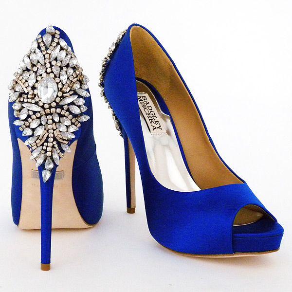 blue shoes badgley mischka kiara wedding shoes, sapphire | something blue, wedding and  entrance ZJEDAXG