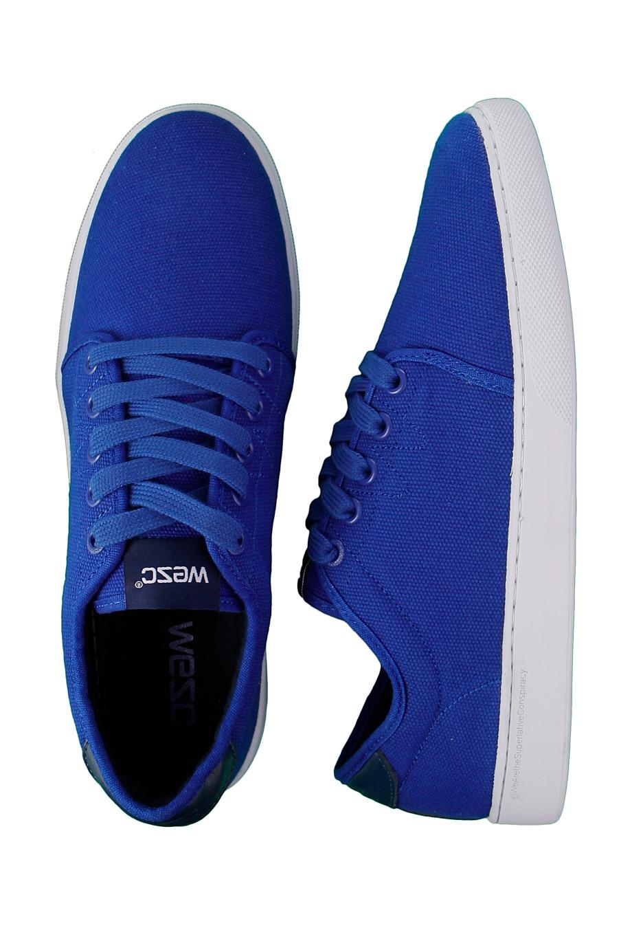 blue shoes wesc - edmond royal blue - shoes - impericon.com worldwide NQQOJUI