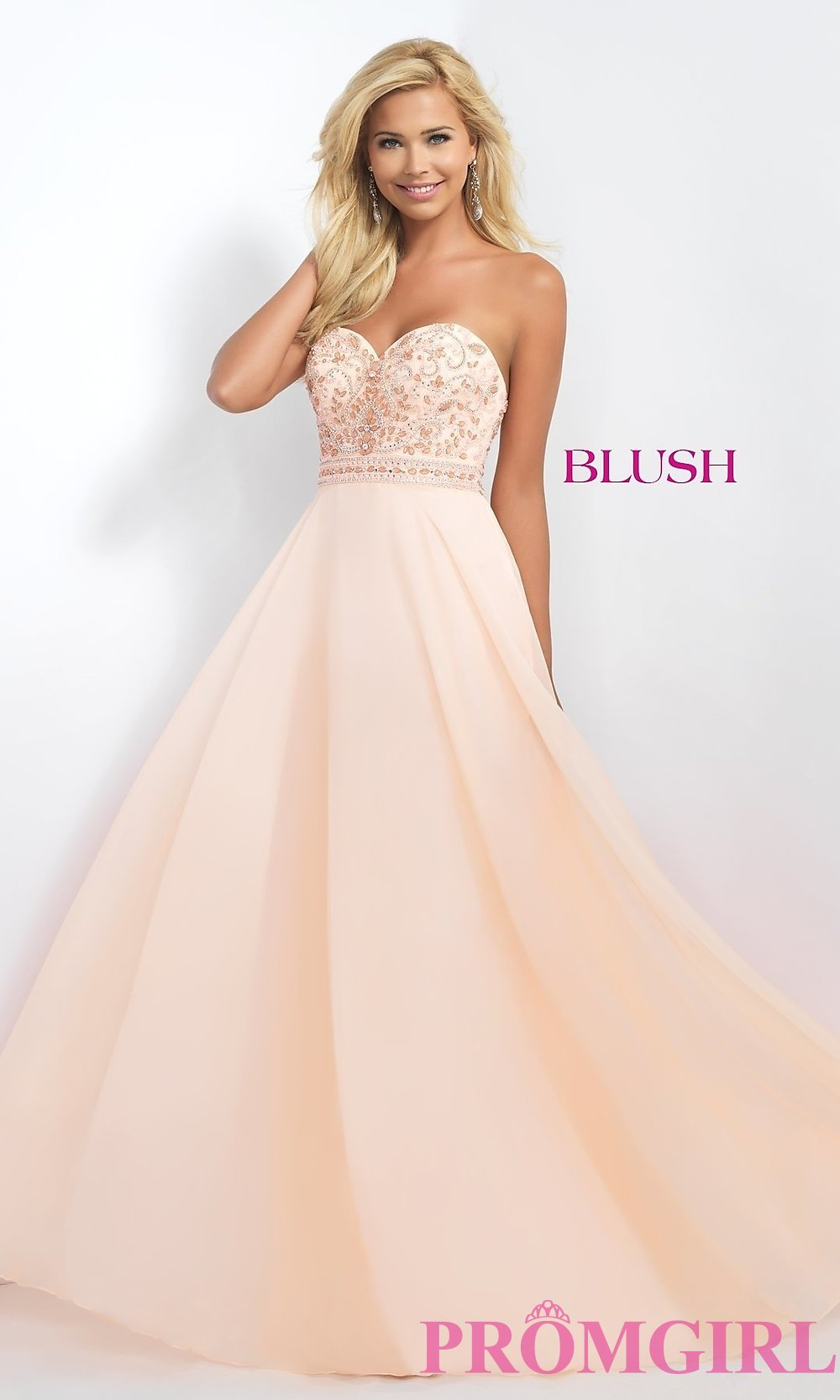 blush prom dresses hover to zoom JXVJCTP