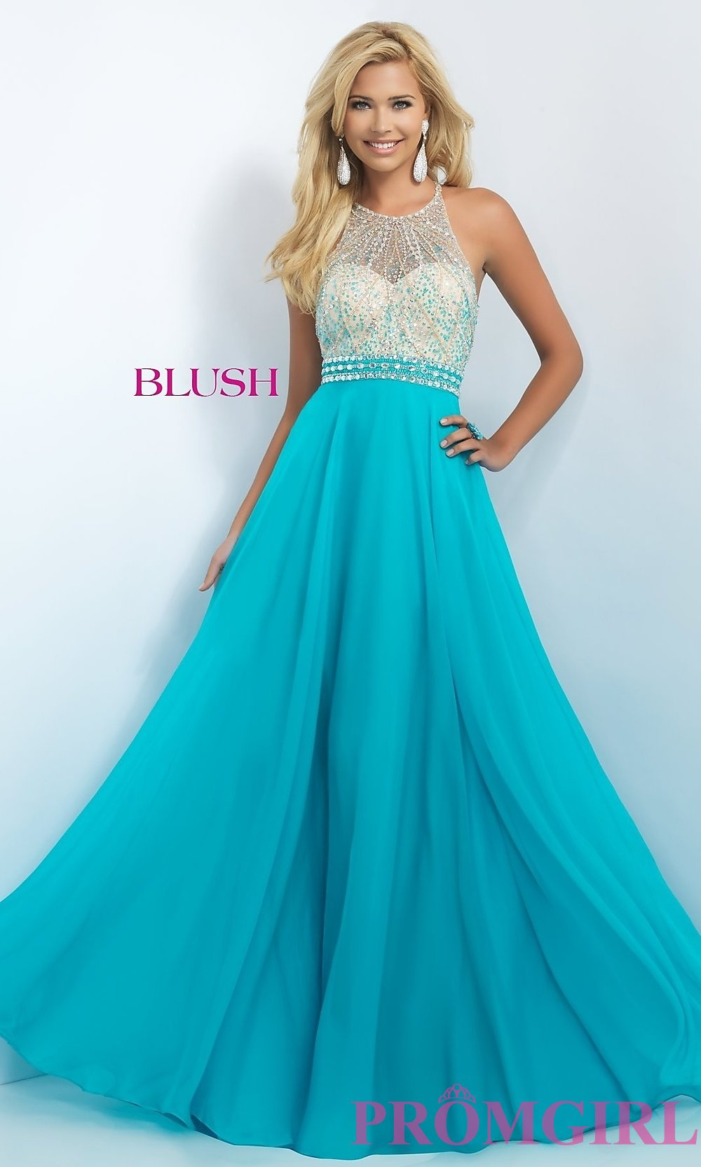 blush prom dresses hover to zoom QEMHIDX
