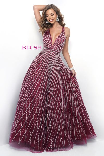 blush prom dresses too - plus size; opulence VTJROSX