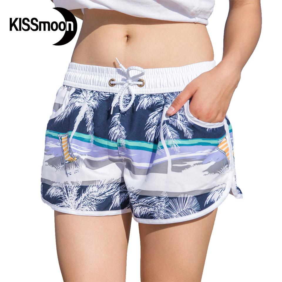 board shorts for women kissyuer quick-drying sunshine beach deck chair boardshorts women swimsuit  hot sexy women couple women RHFQXPR