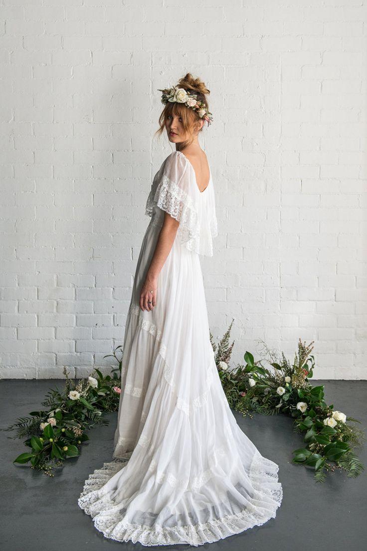 Best bohemian wedding dresses