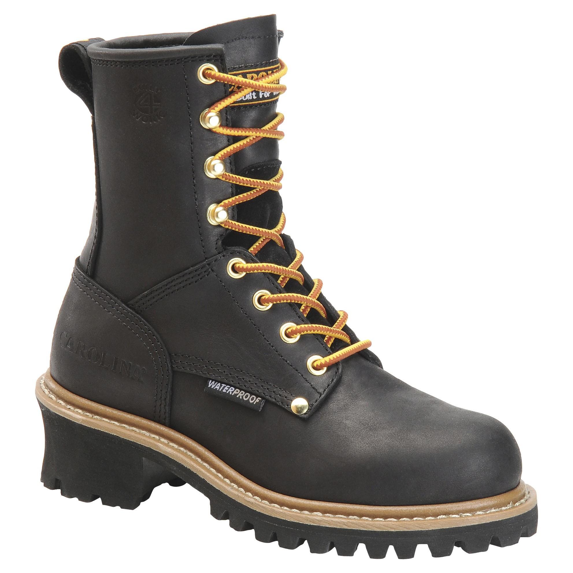 boots for women carolina womenu0027s waterproof logger boots - ca420 u0026 ca1420 DXGANLN