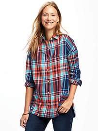 boyfriend shirt boyfriend plaid shirt for women HNTGYXX