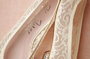 bridal flats lace JYFRIVN