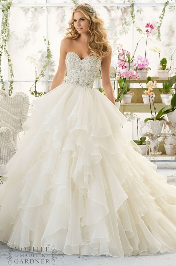brides dresses dresses from maggie sottero mori lee sweeheart ball gown wedding dress VNJCUKA