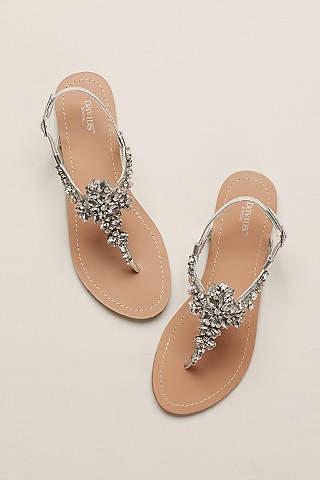 bridesmaid shoes davidu0027s bridal VCRVRXS