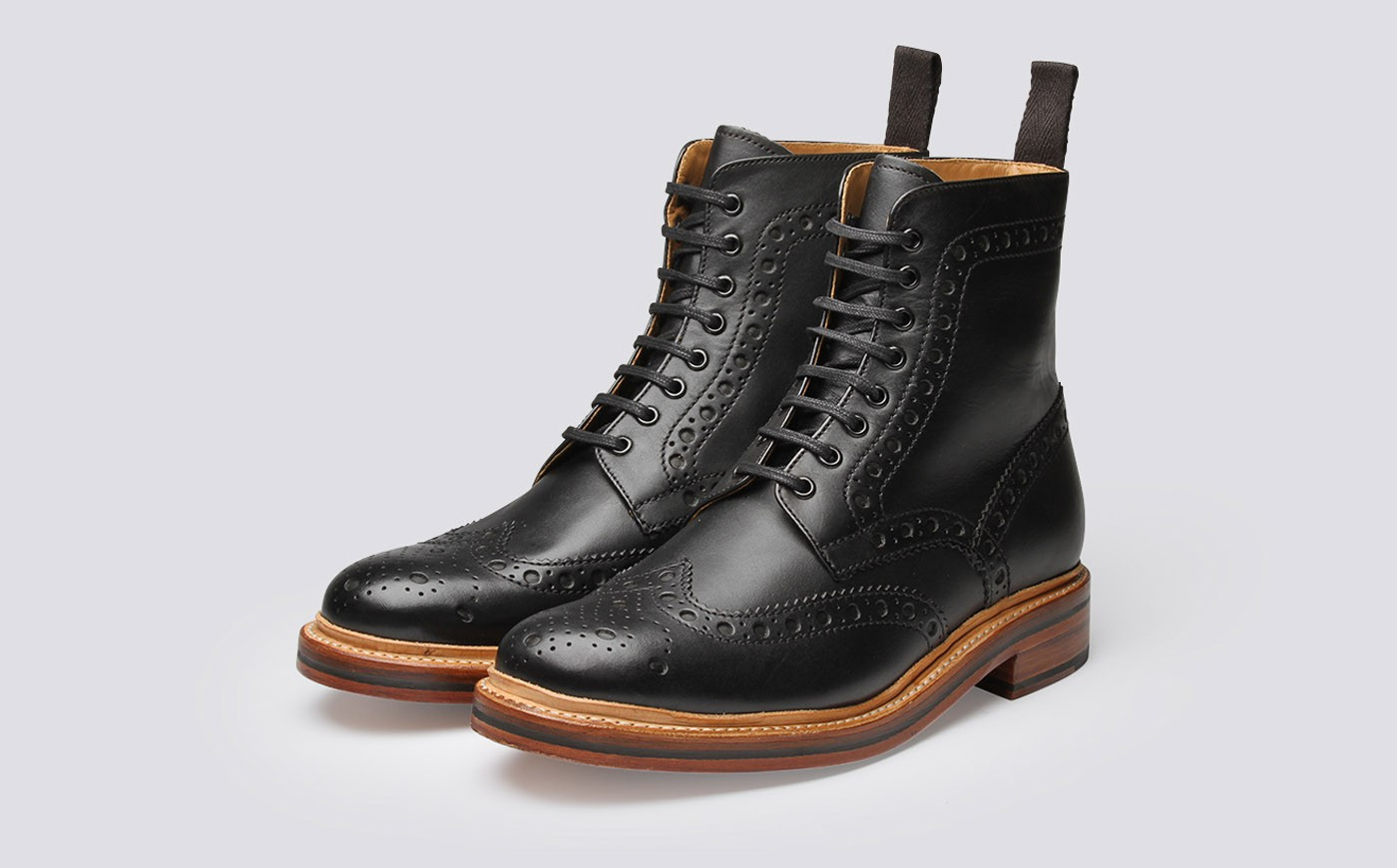 Brogue boots- every gentlemen must own one