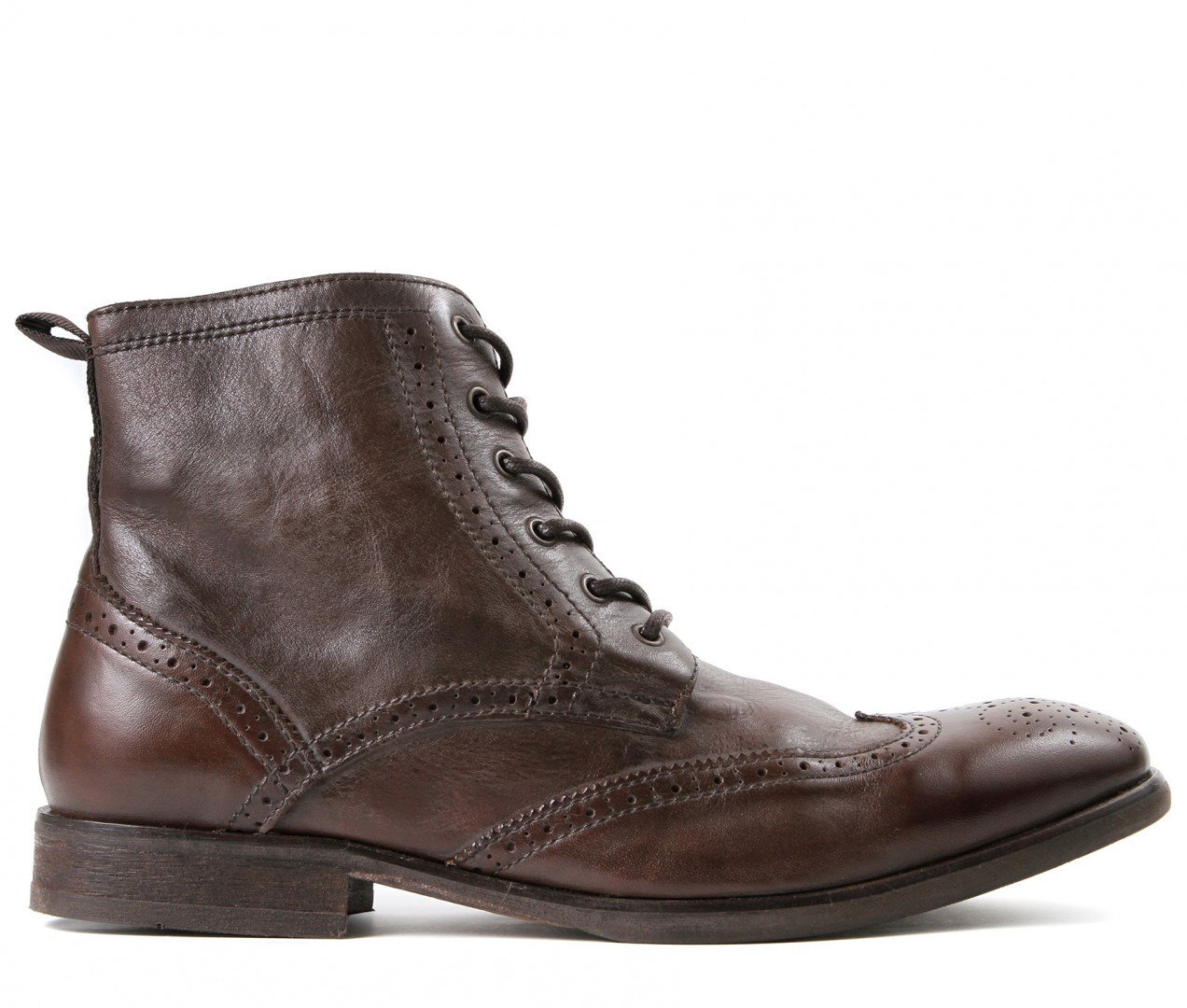 brogue boots simpson brown brogue boot VRRJLVO