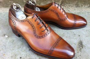 brogue shoes beautiful gaziano girling half brogue in brown. beautiful gaziano girling  half brogue in brown SHAAKYS