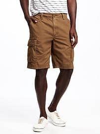 broken-in cargo shorts for men (10 TGRWKTN