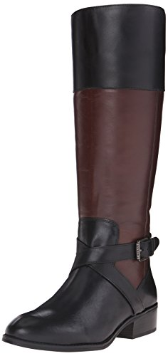 brown leather boots amazon.com | lauren ralph lauren womenu0027s maryann riding boot | knee-high BUCYGPC