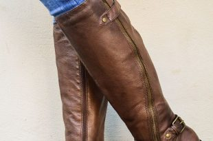 brown leather boots steve madden synicle brown leather riding boots NZOYAMD