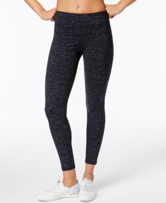 calvin klein performance heathered high-rise cropped leggings OVLUJMN