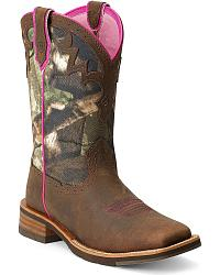 camo cowgirl boots SURARLW