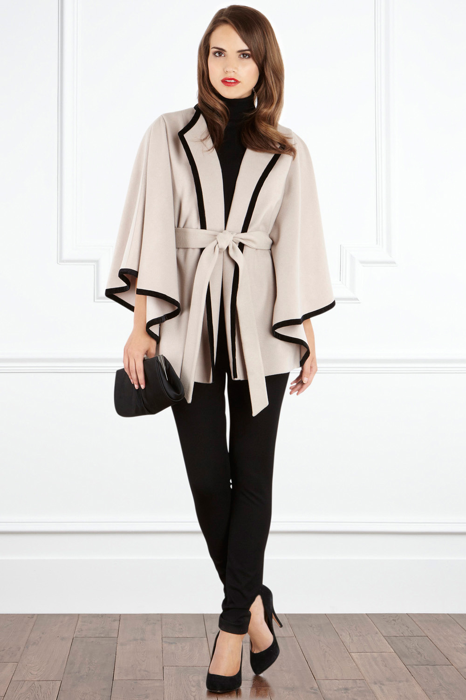 cape coat EHXIOBR