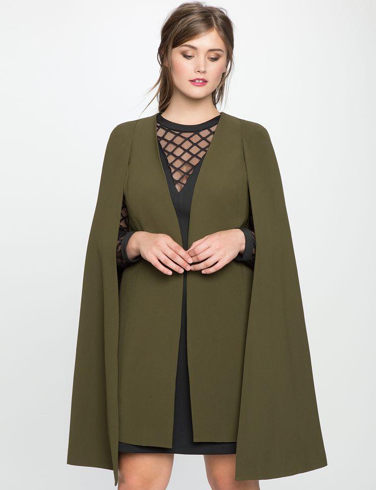 cape coat long cape jacket TXGKPHT